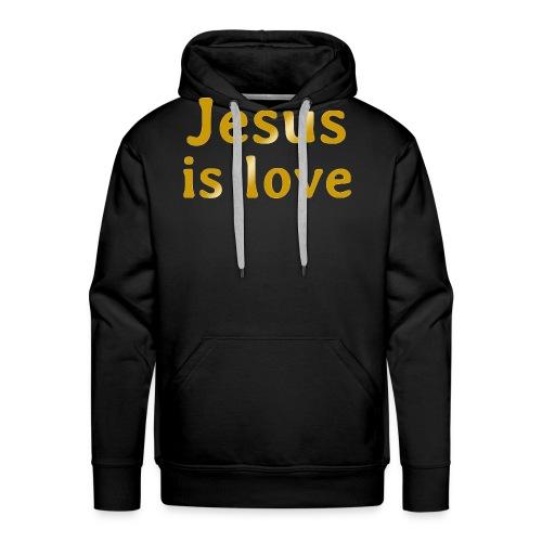 Jesus is love - Men's Premium Hoodie