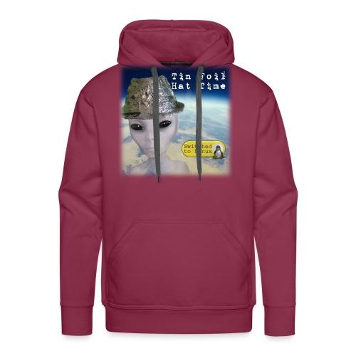 Tin Foil Hat Time (Earth) - Men's Premium Hoodie