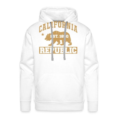 California Republic - Men's Premium Hoodie