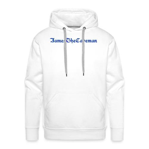 JamesTheCaveman T - Men's Premium Hoodie