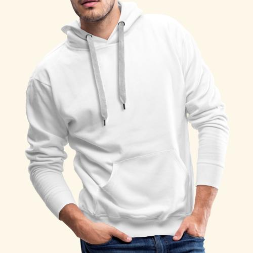 OB Fit with pn white personal training - Men's Premium Hoodie