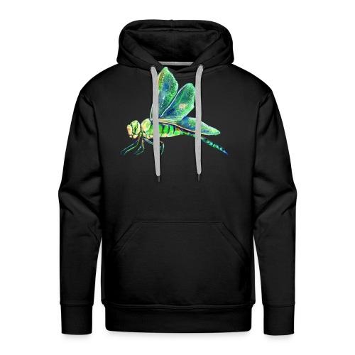 green dragonfly - Men's Premium Hoodie