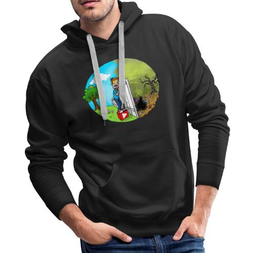 FUNnel Vision THE OTHER SIDE (Adults) - Men's Premium Hoodie