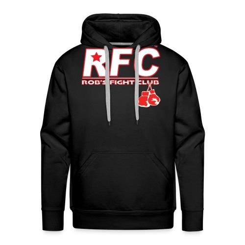 Red/Wht RFC Star Logo - Men's Premium Hoodie