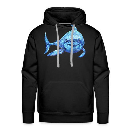 sharp shark - Men's Premium Hoodie