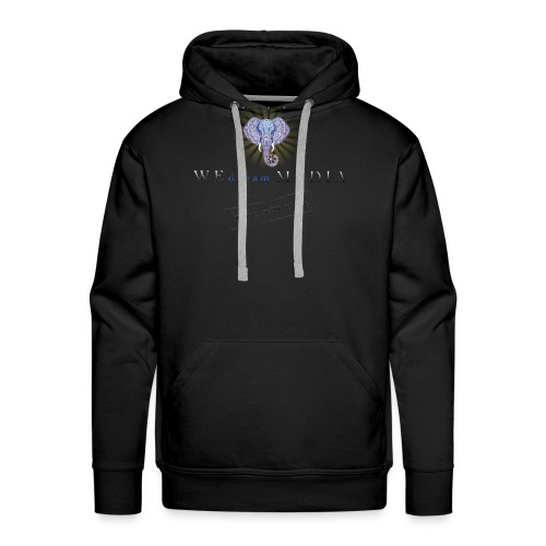 pro_logo_png_444444 - Men's Premium Hoodie