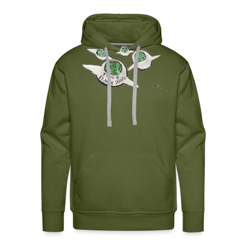 Tours of Planet Stupid - Men's Premium Hoodie