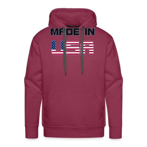 Made in USA - Men's Premium Hoodie