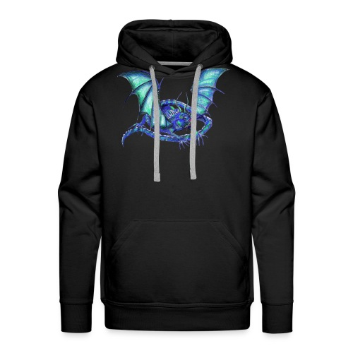 lizard dragon - Men's Premium Hoodie