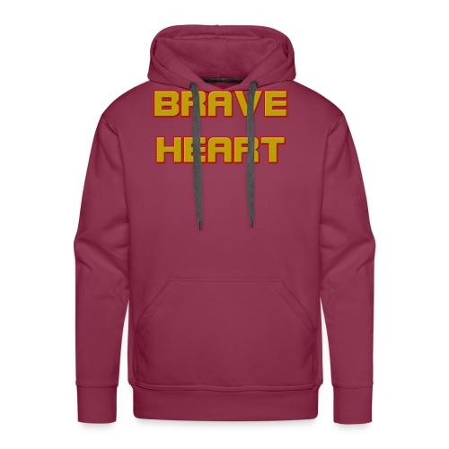 brave heart - Men's Premium Hoodie