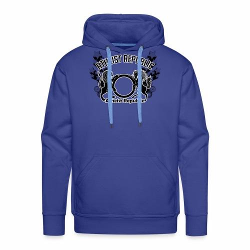 Atheist Republic Logo - Shooting Stars - Men's Premium Hoodie