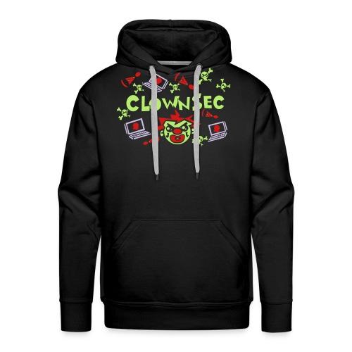 The Clown Hacker - Men's Premium Hoodie