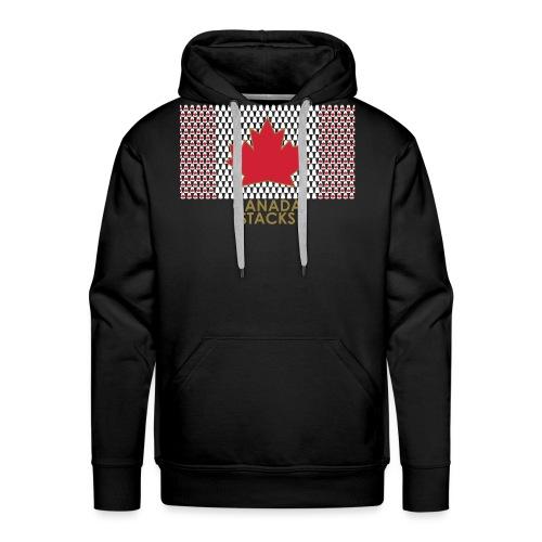 Canada Stacks - Men's Premium Hoodie