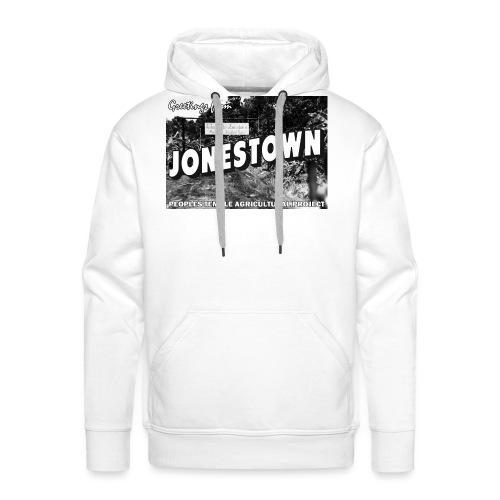 Jonestown Postcard - Men's Premium Hoodie