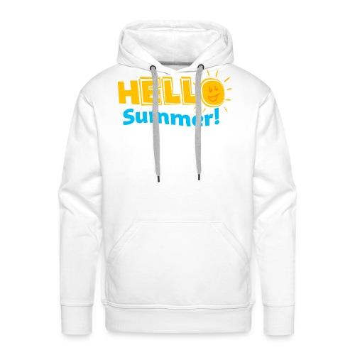 Kreative In Kinder Hello Summer! - Men's Premium Hoodie
