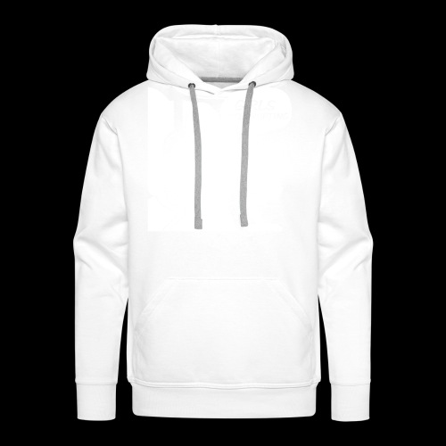 GI LOGO WHITE FINAL - Men's Premium Hoodie