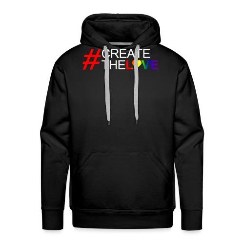 #CreateTheLove - Men's Premium Hoodie