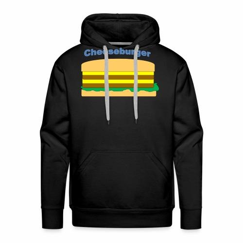 cheeseburger - Men's Premium Hoodie