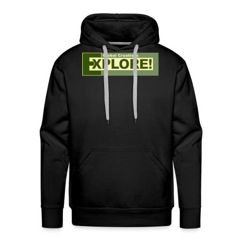 Explore Logo - Men's Premium Hoodie