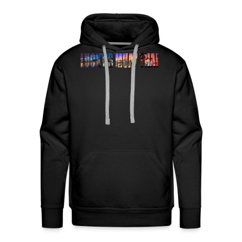 Here to There T-shirt - Men's Premium Hoodie