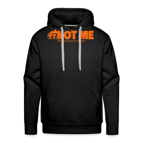 NDP doesn't speak for ME! - Men's Premium Hoodie
