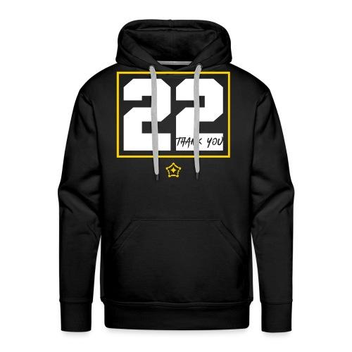 22v - Men's Premium Hoodie