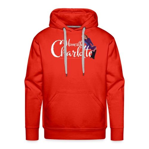Honestly Charlotte Logo - Men's Premium Hoodie