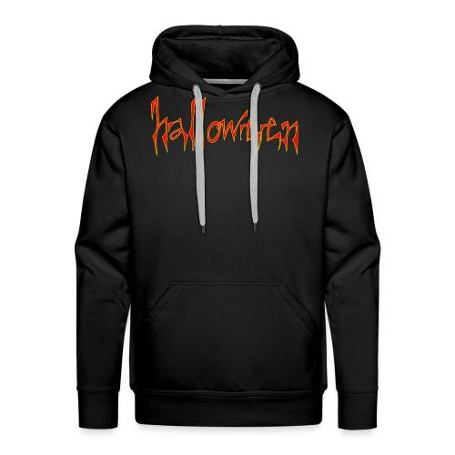 creepy halloween - Men's Premium Hoodie