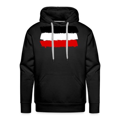 Deutsches Reich flag - Men's Premium Hoodie