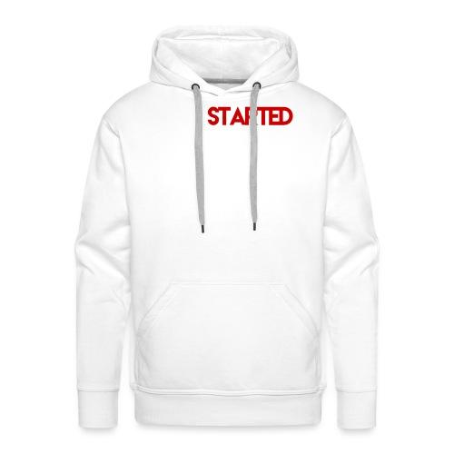 getstarted_design - Men's Premium Hoodie