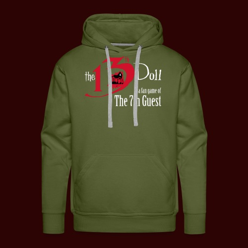 The 13th Doll Logo - Men's Premium Hoodie