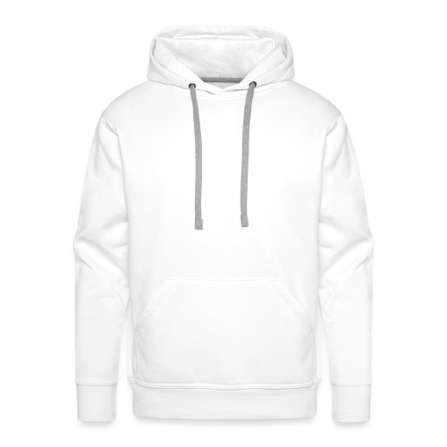 FVDED Cutout resize V1 white - Men's Premium Hoodie