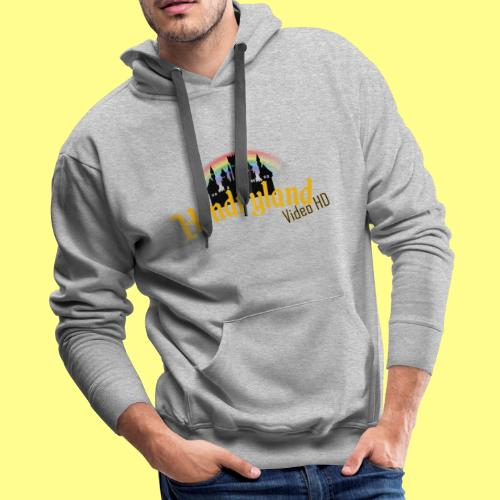 HENDRYLAND logo Merch - Men's Premium Hoodie