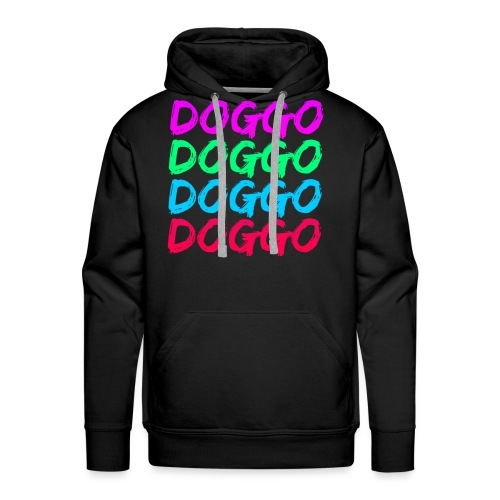 That 70's Doggo - Men's Premium Hoodie