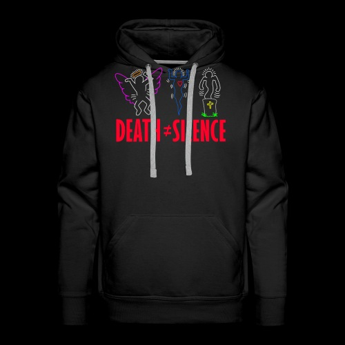 Death Does Not Equal Silence - Men's Premium Hoodie