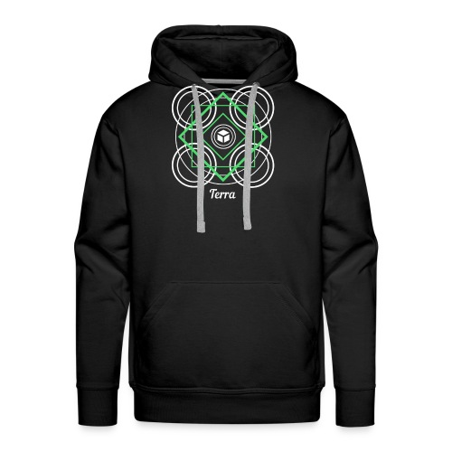 Terra Earth Element Alchemy Design - Men's Premium Hoodie