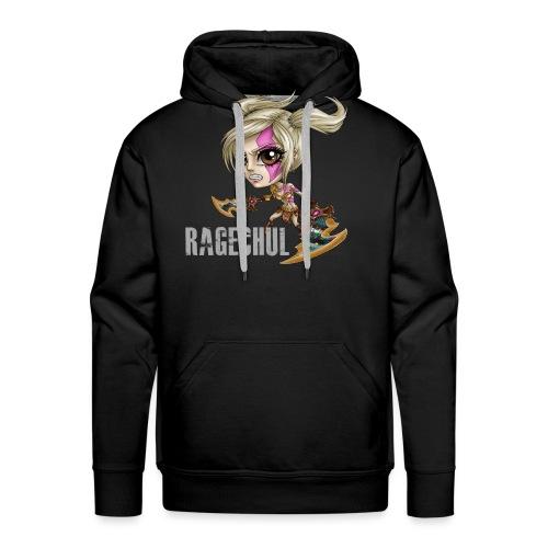 Ragechul shirt png - Men's Premium Hoodie