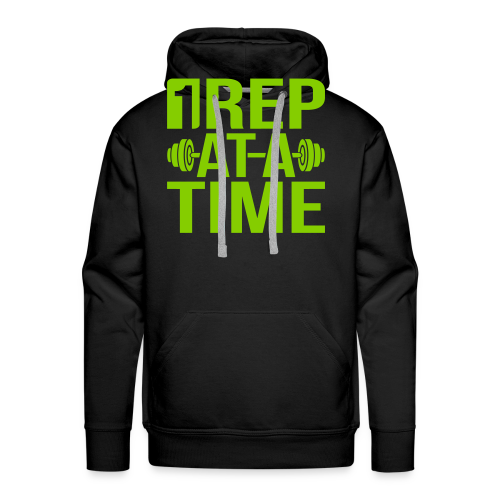1Rep at a Time - Men's Premium Hoodie