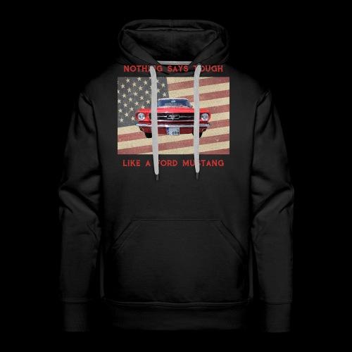 Mustang Tough - Men's Premium Hoodie