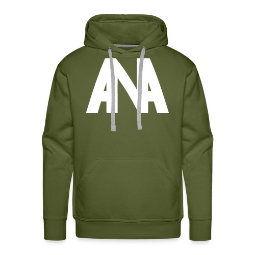 Abnormal 2D Logo - Men's Premium Hoodie