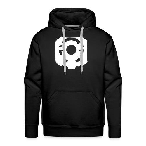 White Monitor png - Men's Premium Hoodie