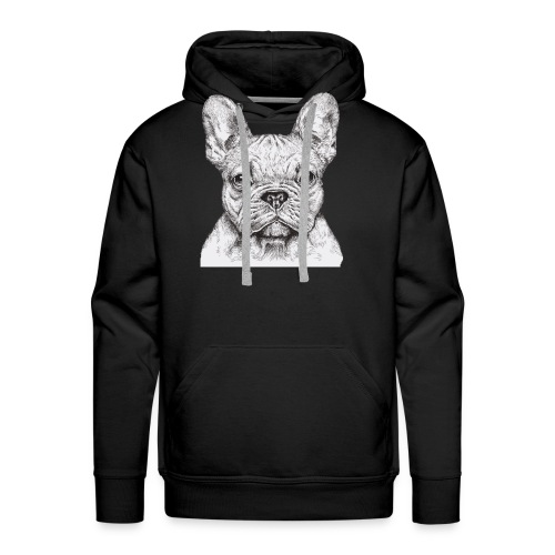 French Bulldog - Men's Premium Hoodie