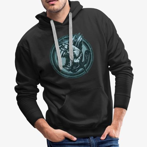 Wild Fish Grunge Animal - Men's Premium Hoodie