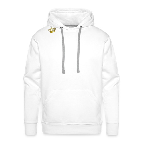 White Crowned Dee Merch - Men's Premium Hoodie