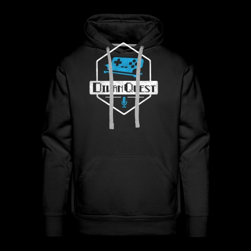 DivanQuest Logo (Badge) - Men's Premium Hoodie