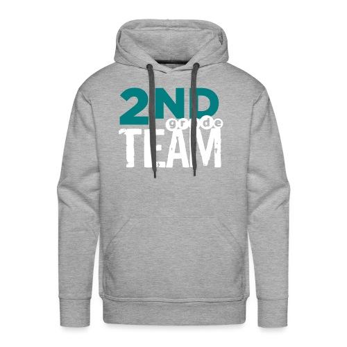Bold 2nd Grade Team Teacher T Shirts - Men's Premium Hoodie