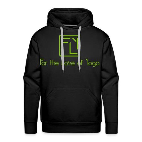 For the Love of Yoga - Men's Premium Hoodie