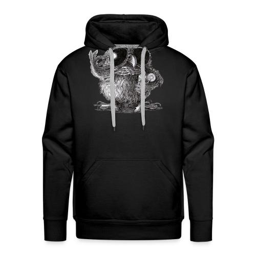 Cool Owl - Men's Premium Hoodie