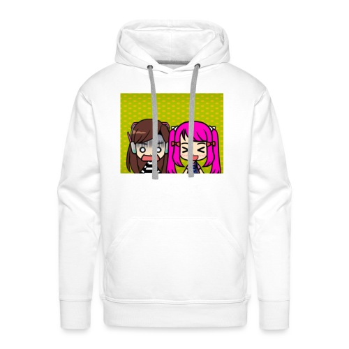 Phone case merch of jazzy and raven - Men's Premium Hoodie