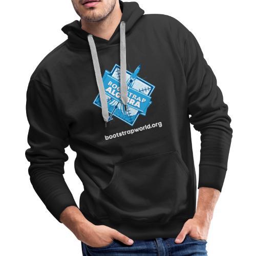 Bootstrap:Algebra T-shirt - Men's Premium Hoodie
